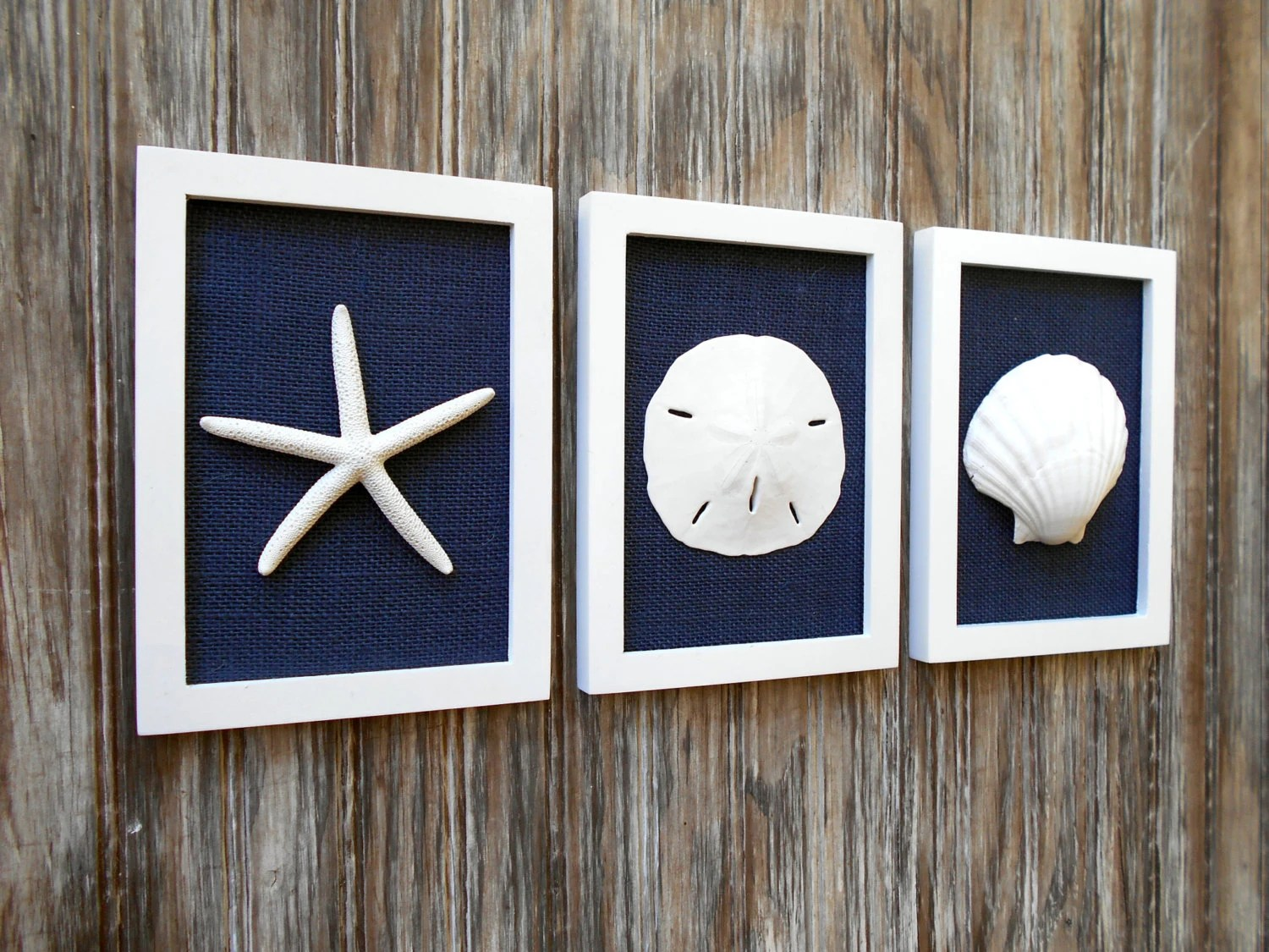 Best Cottage Chic Set Of Beach Wall Art Beach House Decor Navy This Month