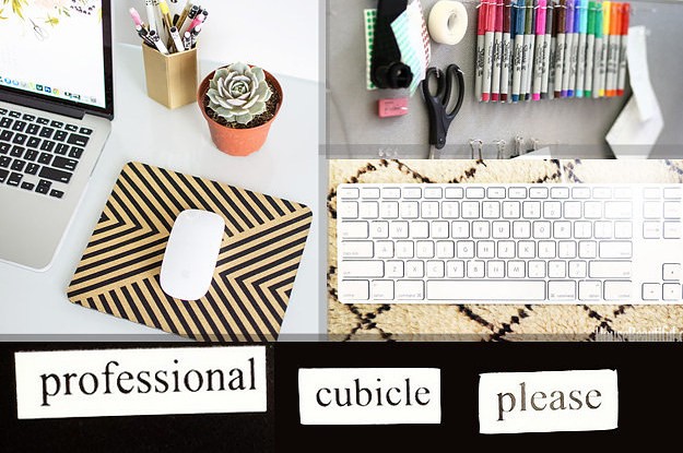 Best 54 Ways To Make Your Cubicle S*Ck Less This Month