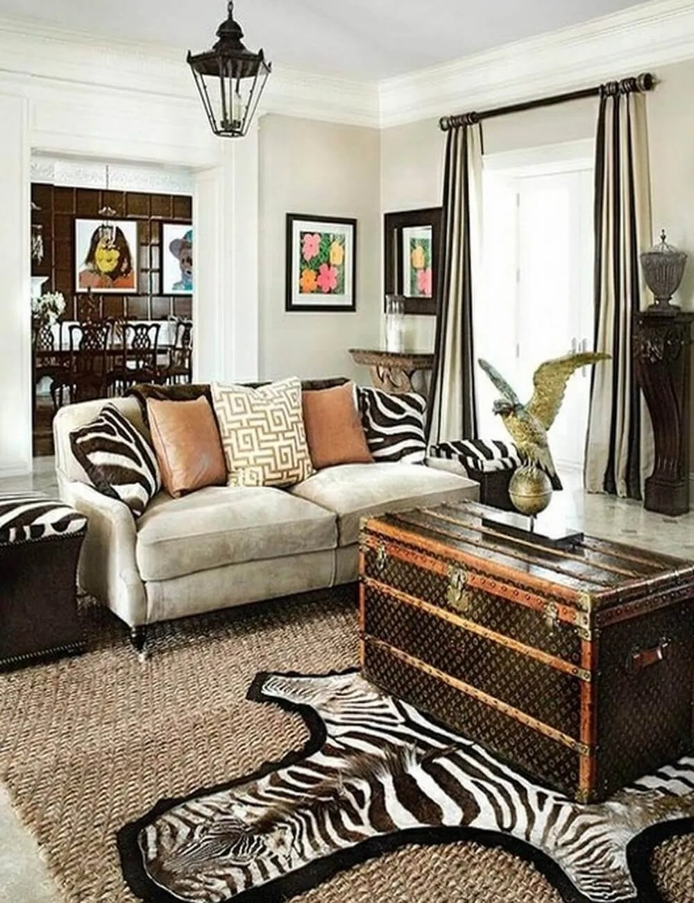 Best Make Your Rooms Look Fierce And Wild By Using Zebra Print This Month