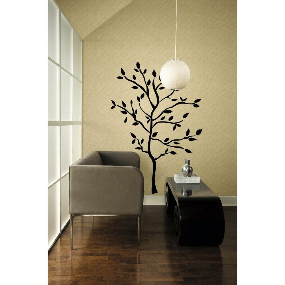 Best Black Tree Mural Giant Wall Decals Leaves Branches This Month