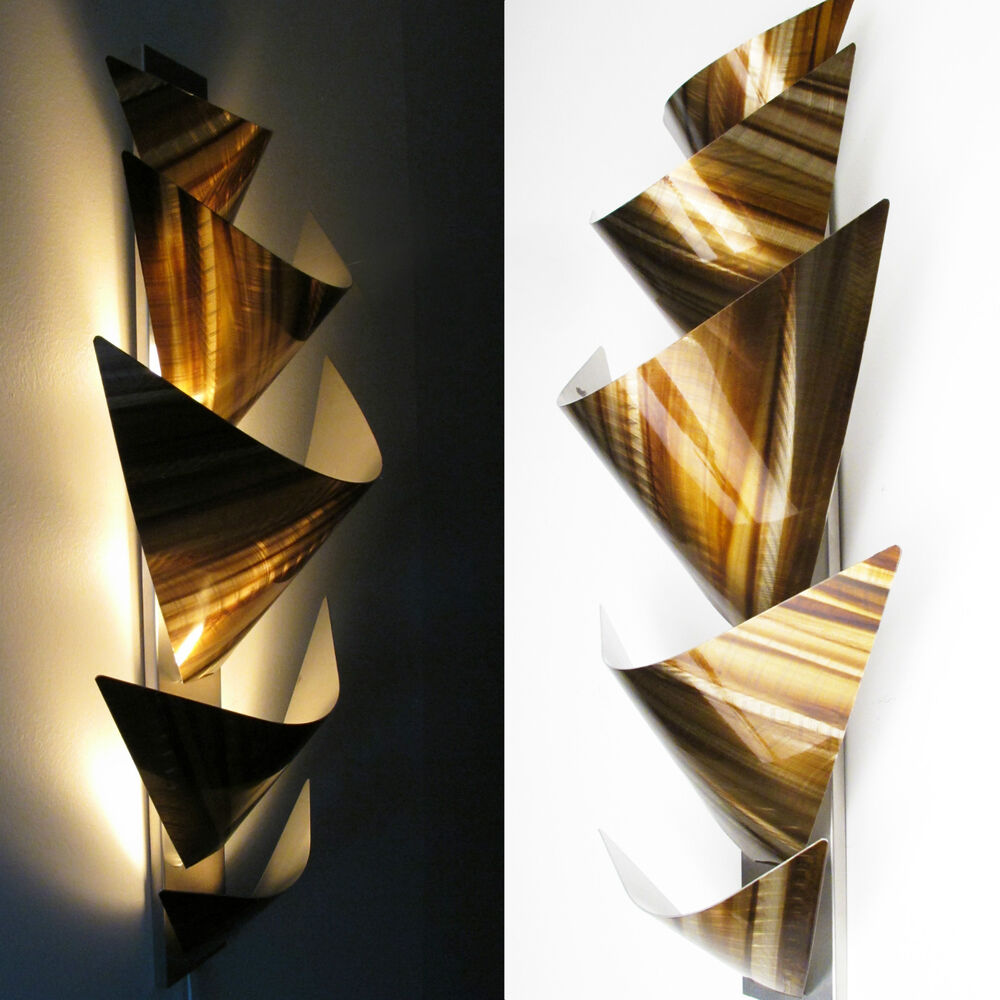 Best Modern Abstract Metal Wall Art Accent Lamp Painting This Month