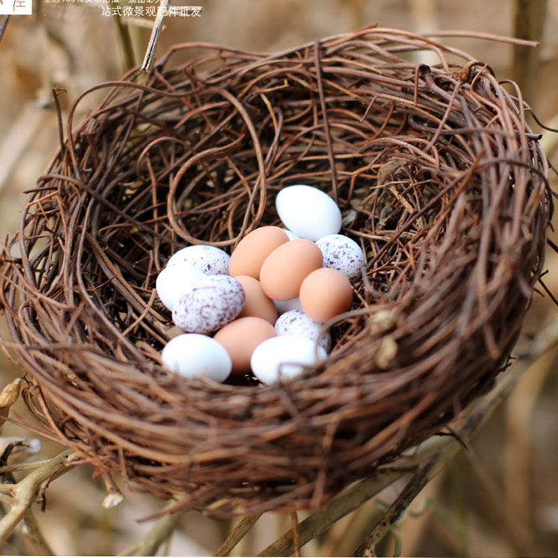 Best Handmade Vine Brown Bird Nest House Home Nature Craft This Month