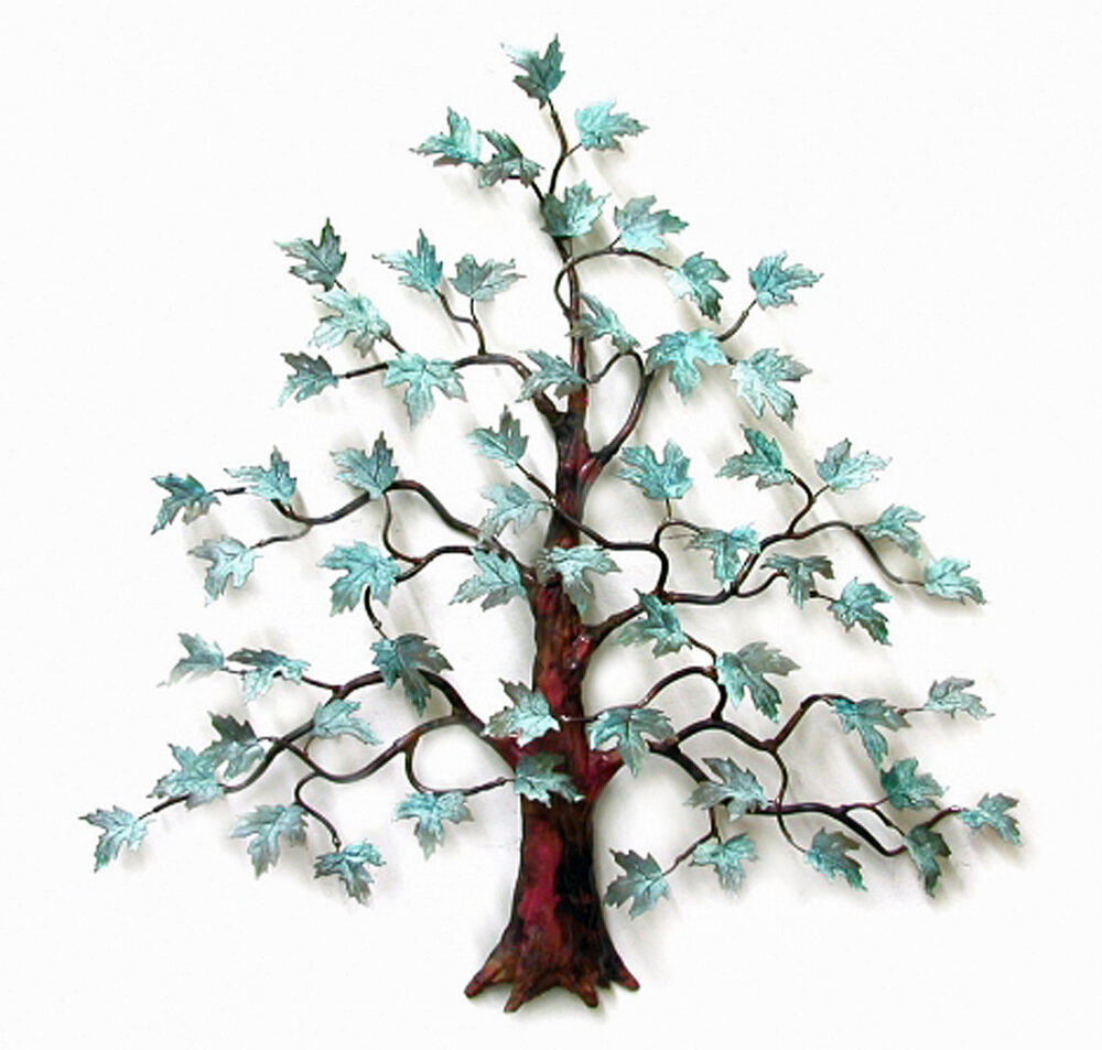 Best Wall Art Magnificent Maple Tree Metal Wall Sculpture This Month