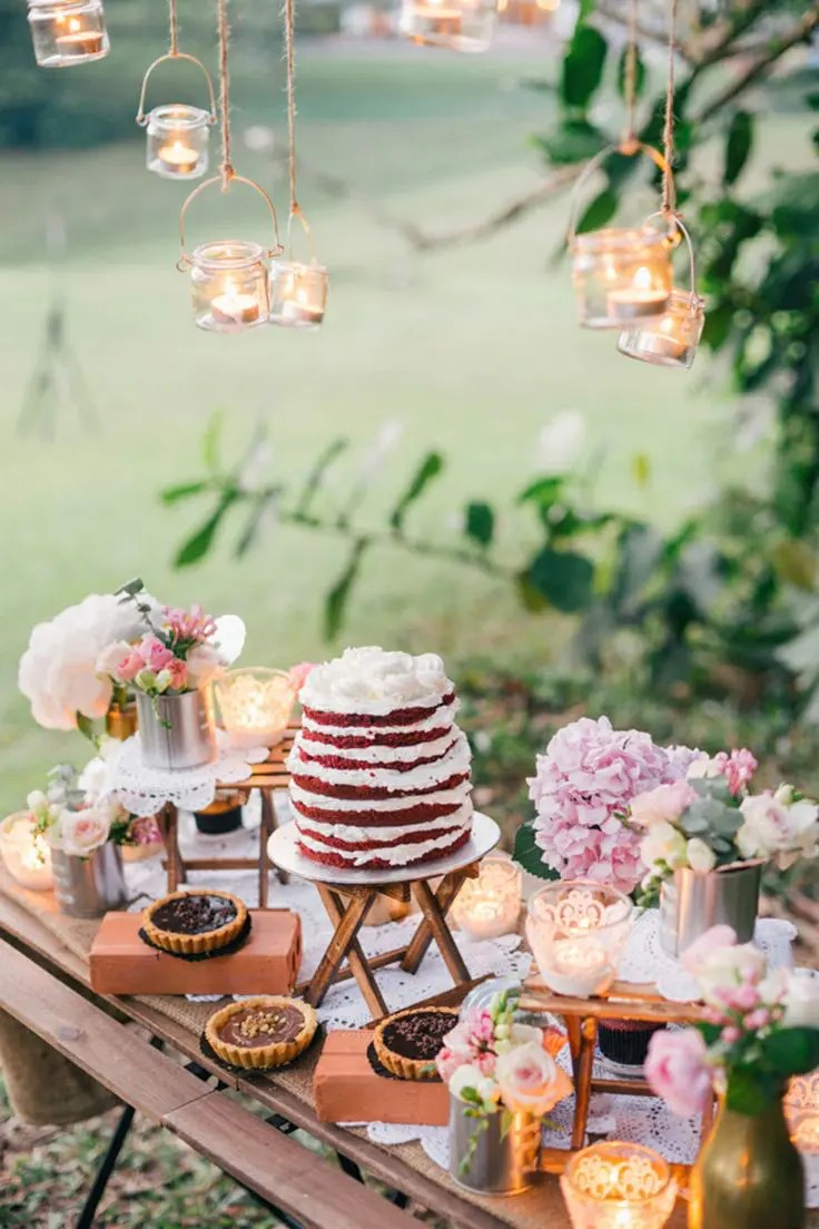 Best Picture Of Stylish Wedding Dessert Table Decor Ideas This Month
