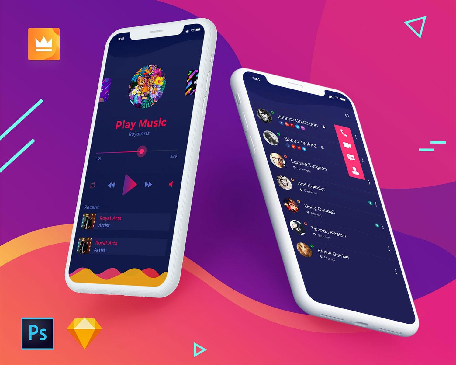 Best Professional Mobile Application Ui Design Ios Android This Month
