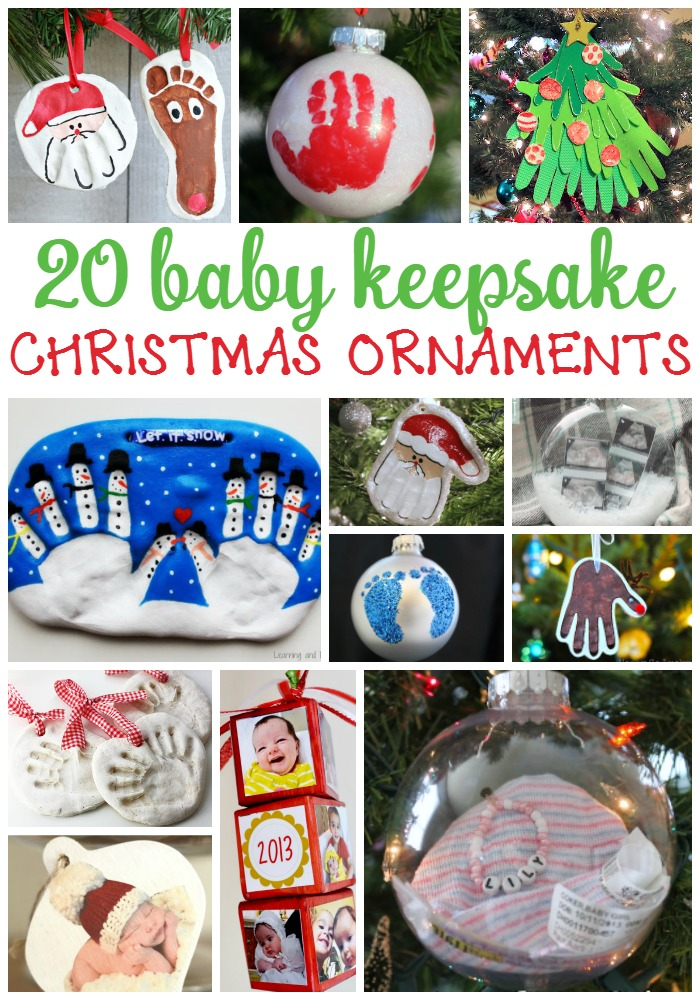 Best 20 Homemade Ornaments For Baby S First Christmas Mommy S This Month
