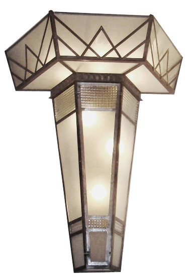 Best Pair Monumental 1930 S Art Deco Wall Sconces From France This Month