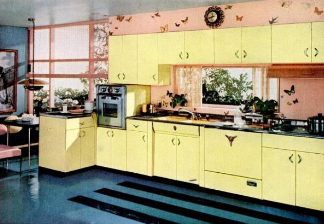 Best Kitchen Trends Introduced In The 1950S This Month