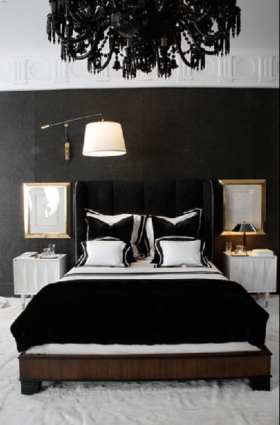 Best Black And White Bedroom Design Ideas This Month