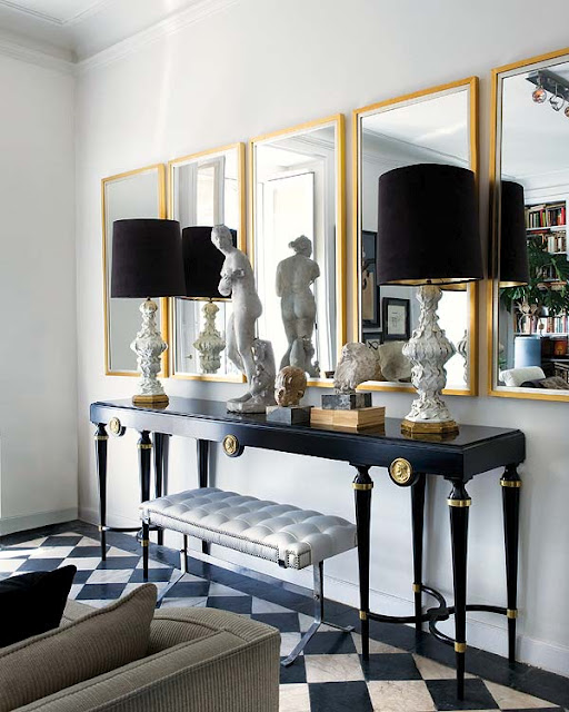 Best Black And Gold Living Room Eclectic Living Room This Month