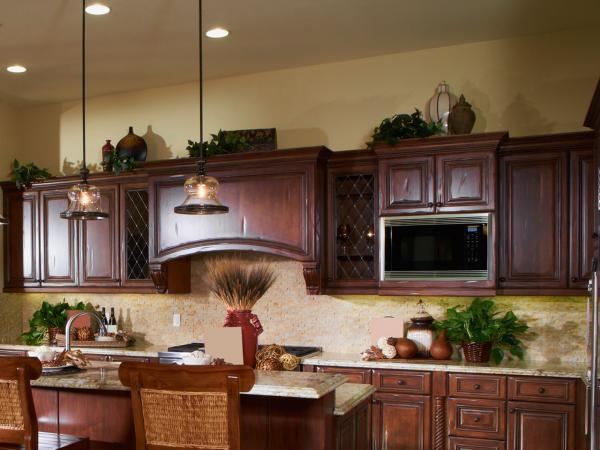 Best Ideas For Decorating Above Kitchen Cabinets Lovetoknow This Month