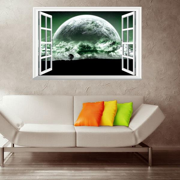 Best Beautiful Planet 3D Fake Window Wall End 6 15 2018 4 15 Pm This Month