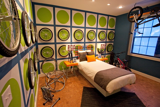 Best Bicycle Themed Room Custom Bedding Explore This Month