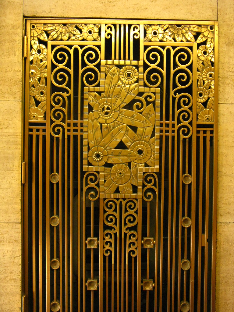 Best Art Deco Grill Architectural Detail From Downtown This Month
