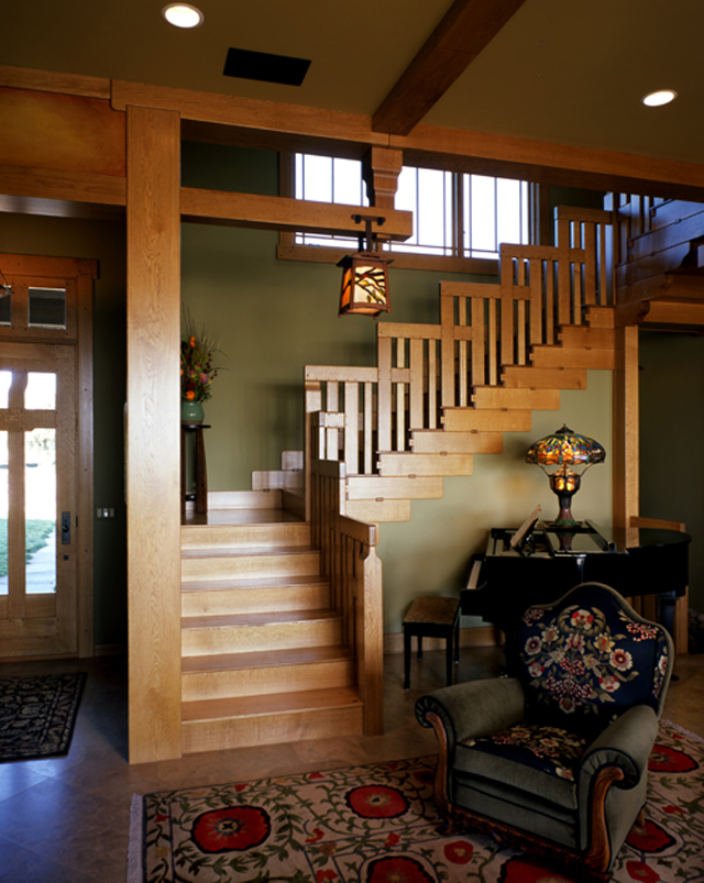 Best Craftsman Style Interiors This Month