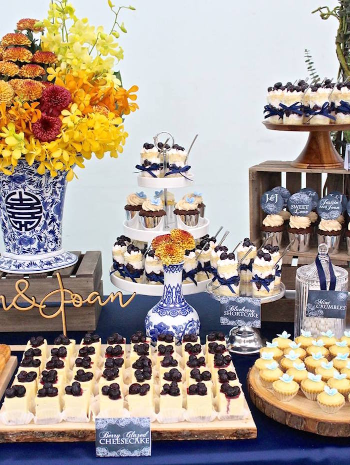 Best Kara S Party Ideas Rustic Asian Wedding Dessert Table This Month