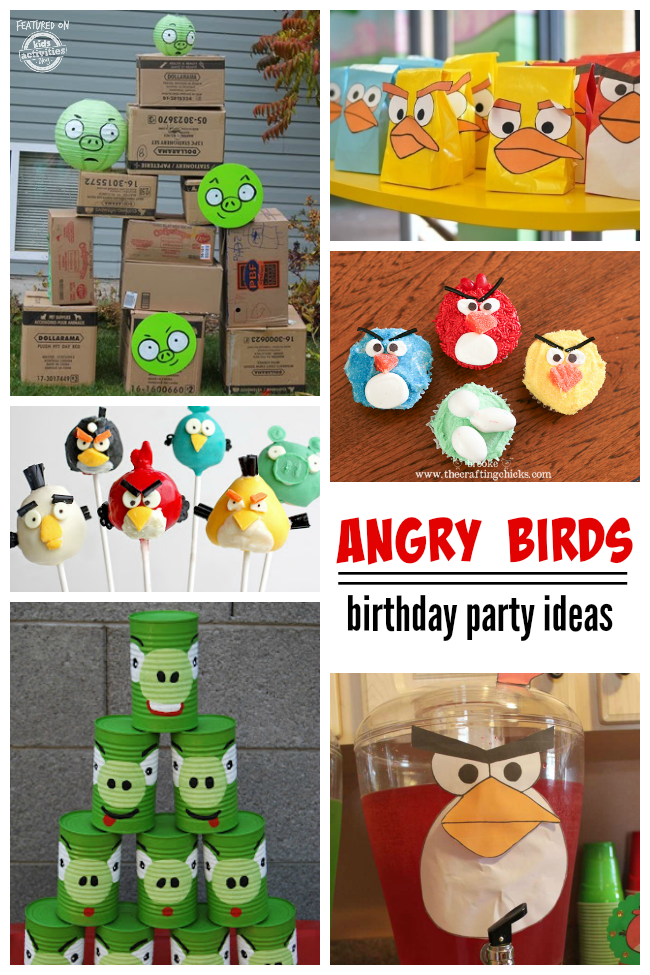 Best 10 Angry Birds Birthday Party Ideas This Month