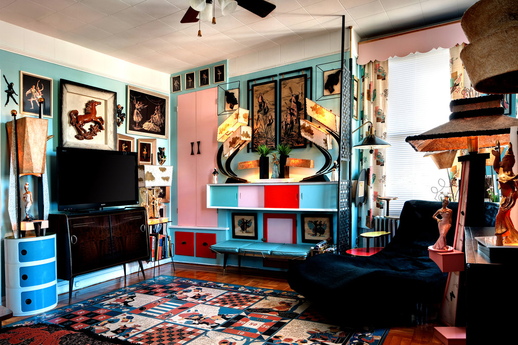 Best A Collector Of '50S Décor Finds An Apartment To Match This Month