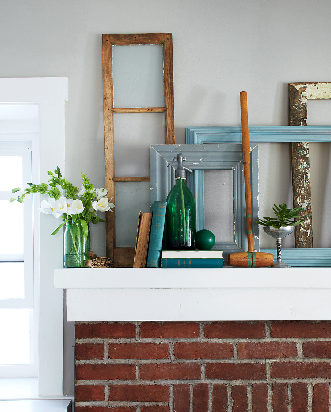 Best Fireplace Mantel Decorating Better Homes Gardens This Month