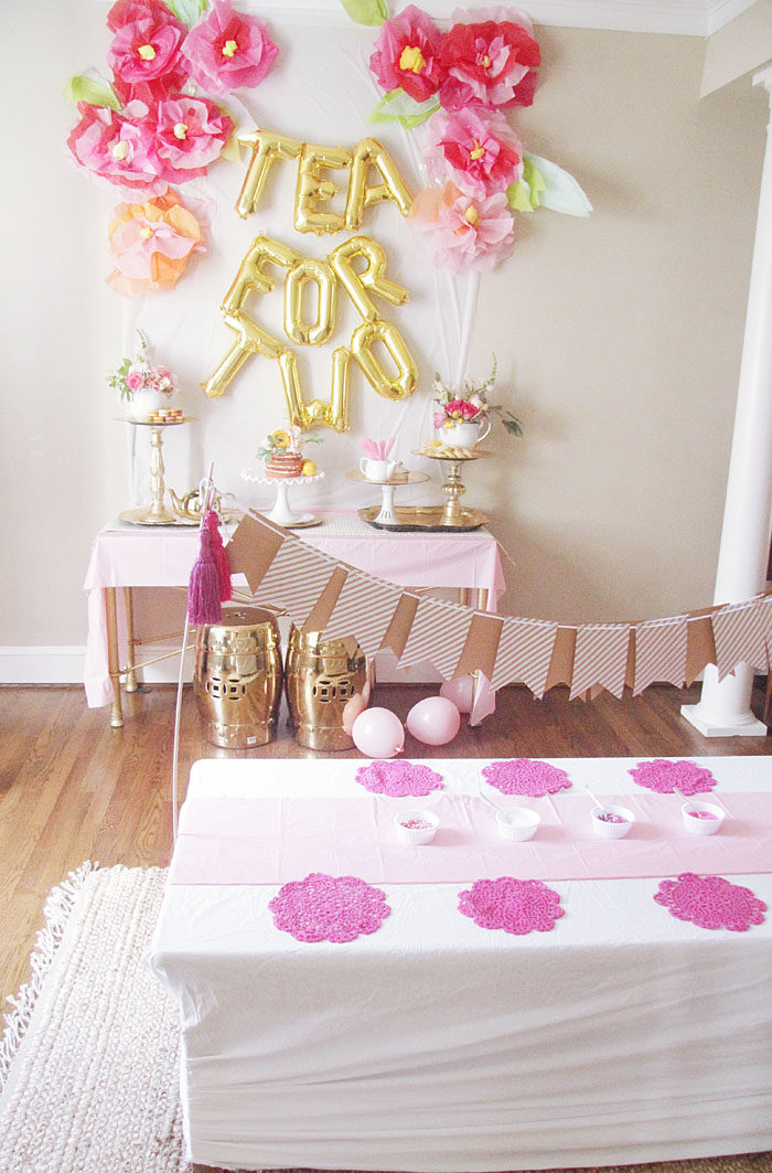 Best Tea For 2 Birthday Party Ideas Home Style Your Senses This Month