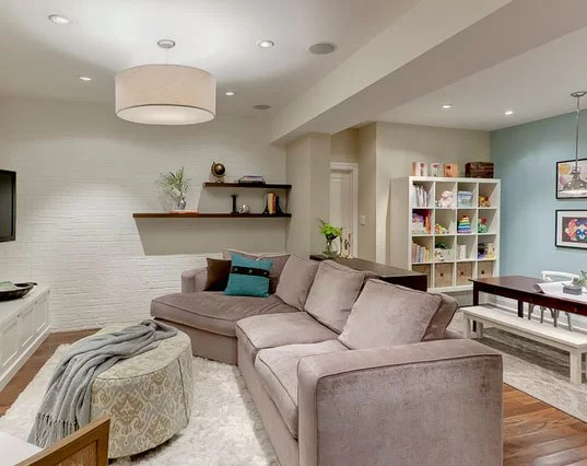 Best 45 Amazing Luxury Finished Basement Ideas Home This Month