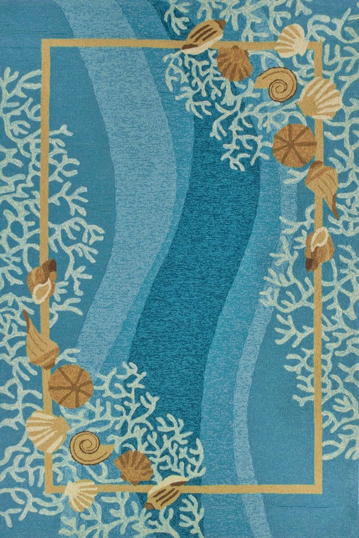 Best Shells And White Coral With Shells Area Rug Beautiful This Month