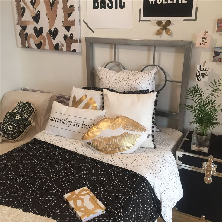 Best Black Gold Dormify Com Mydormifystyle Pinterest This Month