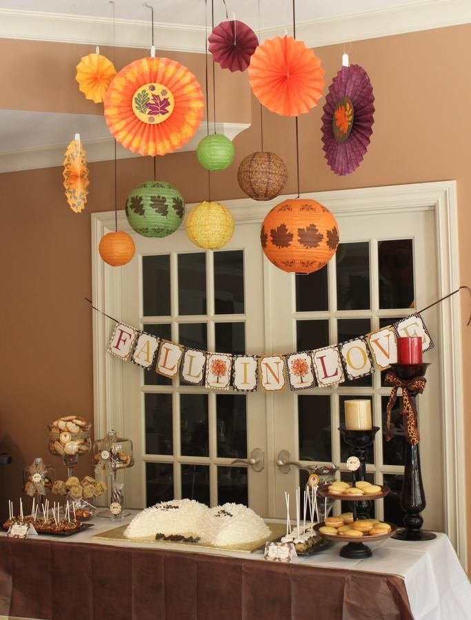 Best Fall Wedding Shower Theme Wedding Showers Parties This Month