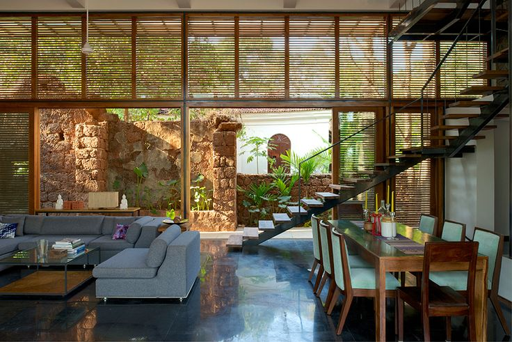Best Eco Friendly Country Home I Aldona Goa Indian Homes This Month