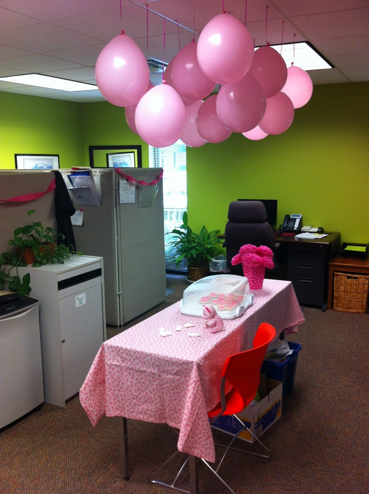 Best Office Decor For Br**St Cancer Awareness Month 31 Days This Month