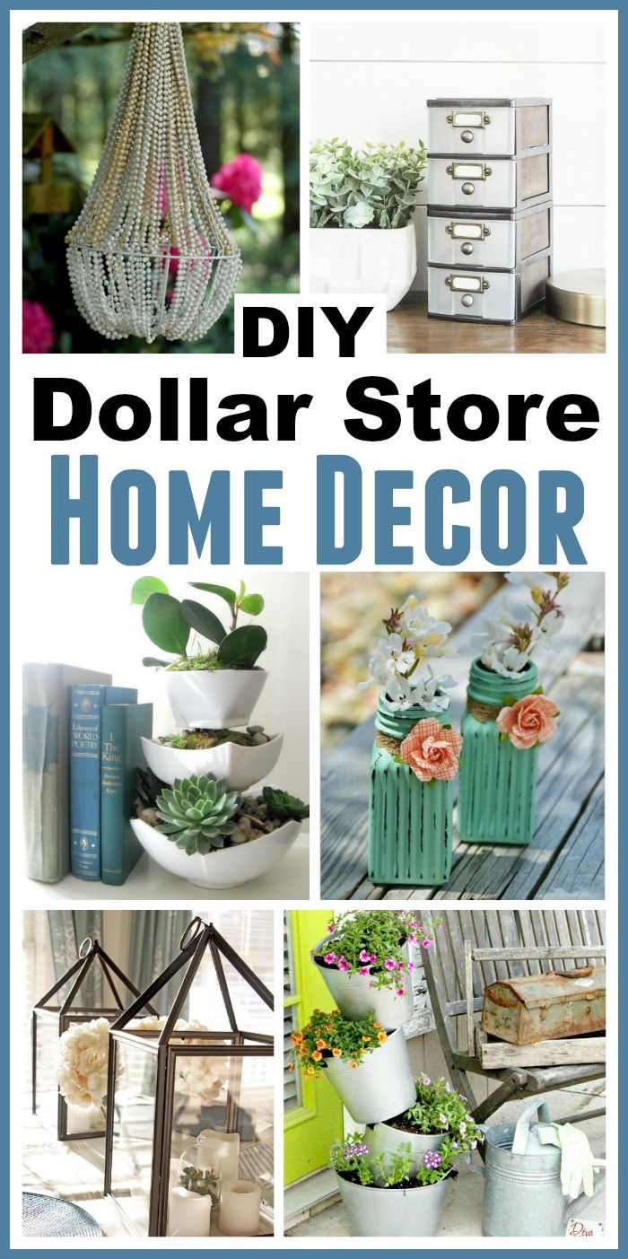 Best Diy Dollar Store Home Decorating Projects This Month