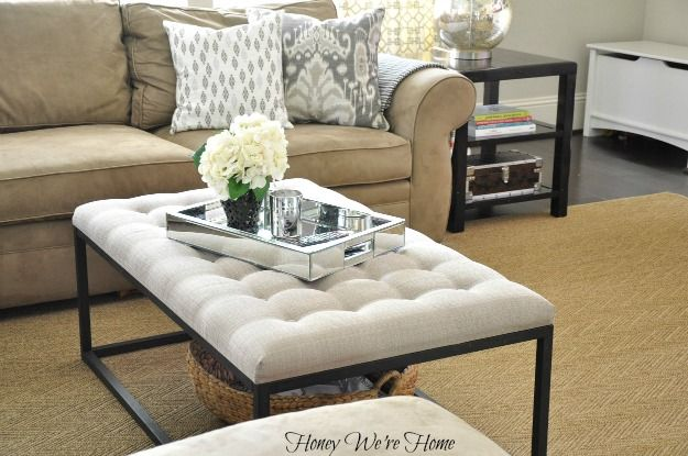 Best Honey We Re Home Overstock Renate Coffee Table Ottoman This Month