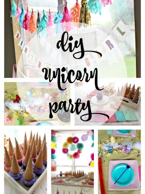 Best Diy Unicorn Party Decor Activities Recipes Tips This Month
