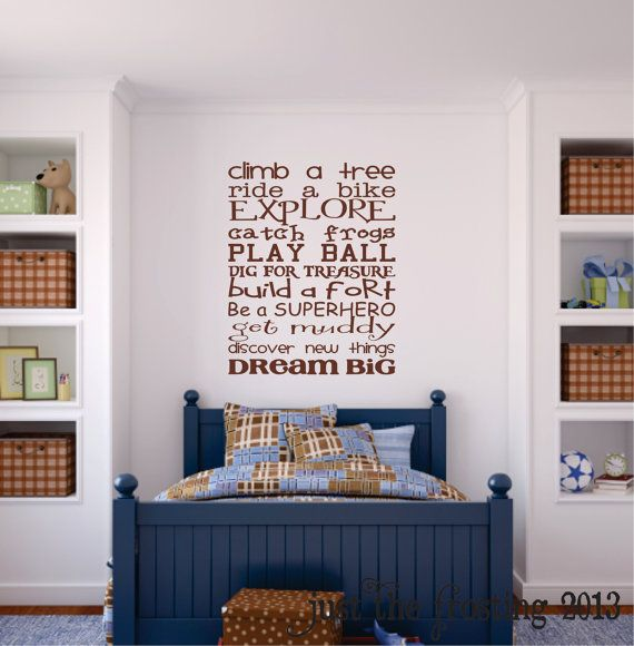 Best Boys Bedroom Wall Decal Childrens Playroom Wall Art This Month