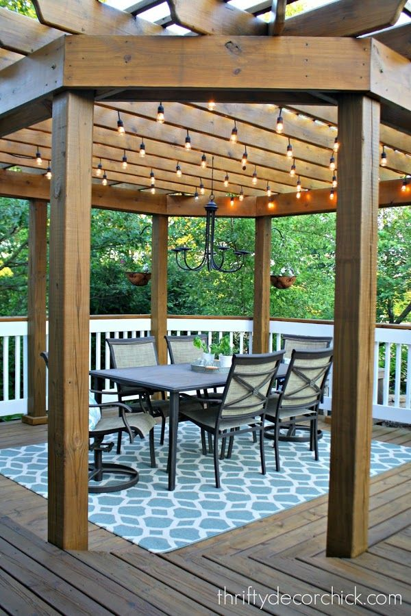 Best 25 Deck Pergola Ideas On Pinterest Deck With This Month