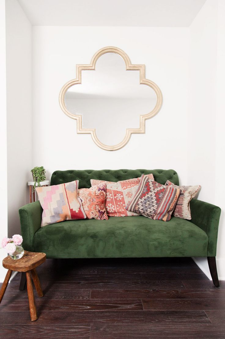 Best 17 Best Ideas About Green Couch Decor On Pinterest Green This Month