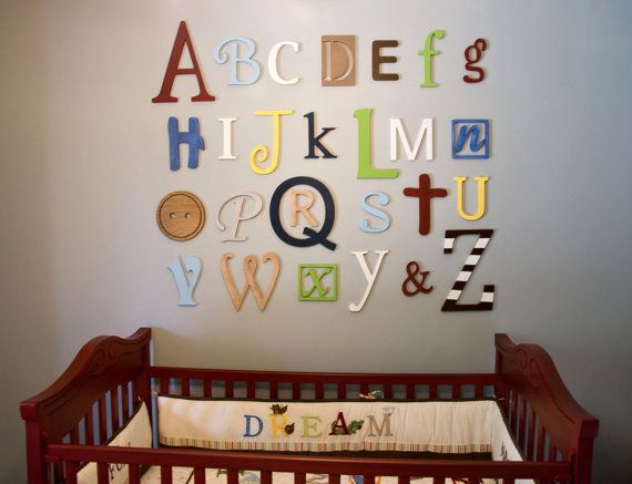 Best 25 Best Ideas About Abc Wall On Pinterest Abc Nursery This Month