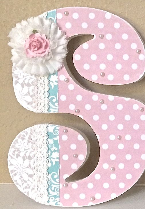 Best 25 Best Ideas About Decorated Wooden Letters On Pinterest This Month