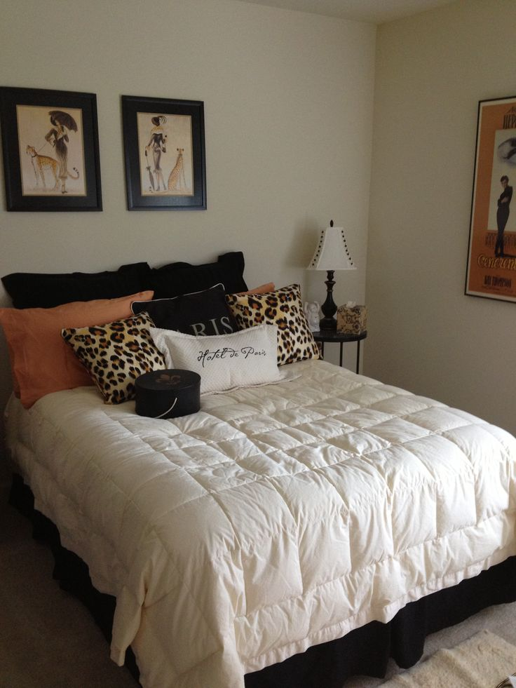 Best Decorating Ideas For Bedroom With Paris And Leopard Print This Month