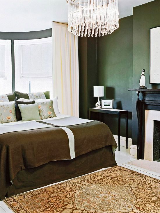 Best 1000 Ideas About Hunter Green Bedrooms On Pinterest This Month