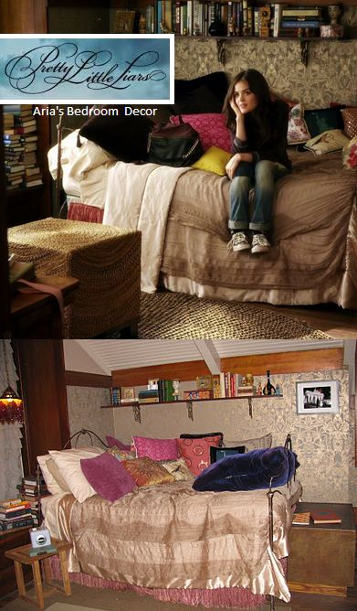 Best Pretty Little Liars Aria S Room Decor Television Shows This Month