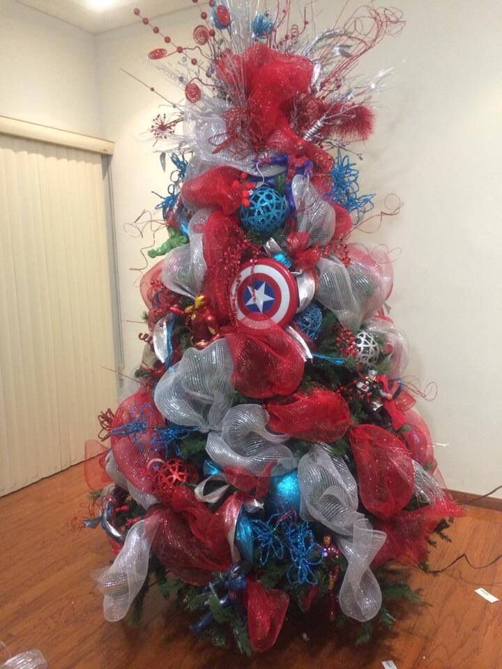 Best 18 Best Images About Superhero Christmas Tree On Pinterest This Month