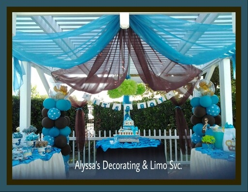 Best Baby Shower Decoration Brown Turquoise And Lime Green This Month