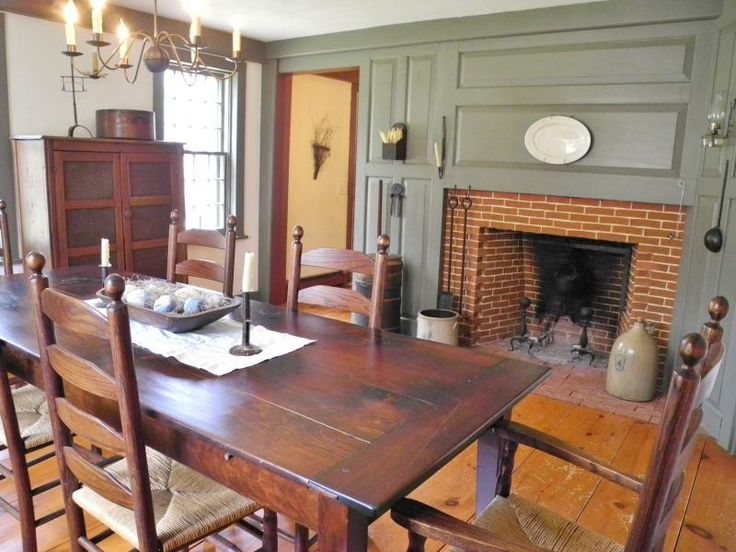 Best Farmhouse – Interior – Early American Decor Inside This This Month