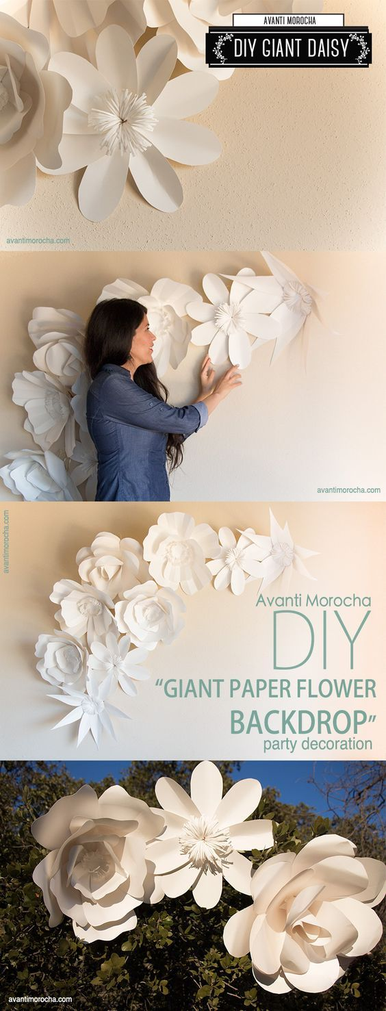 Best 25 Best Ideas About Giant Paper Flowers On Pinterest This Month