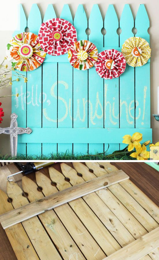 Best 25 Best Ideas About Picket Fence Decor On Pinterest This Month