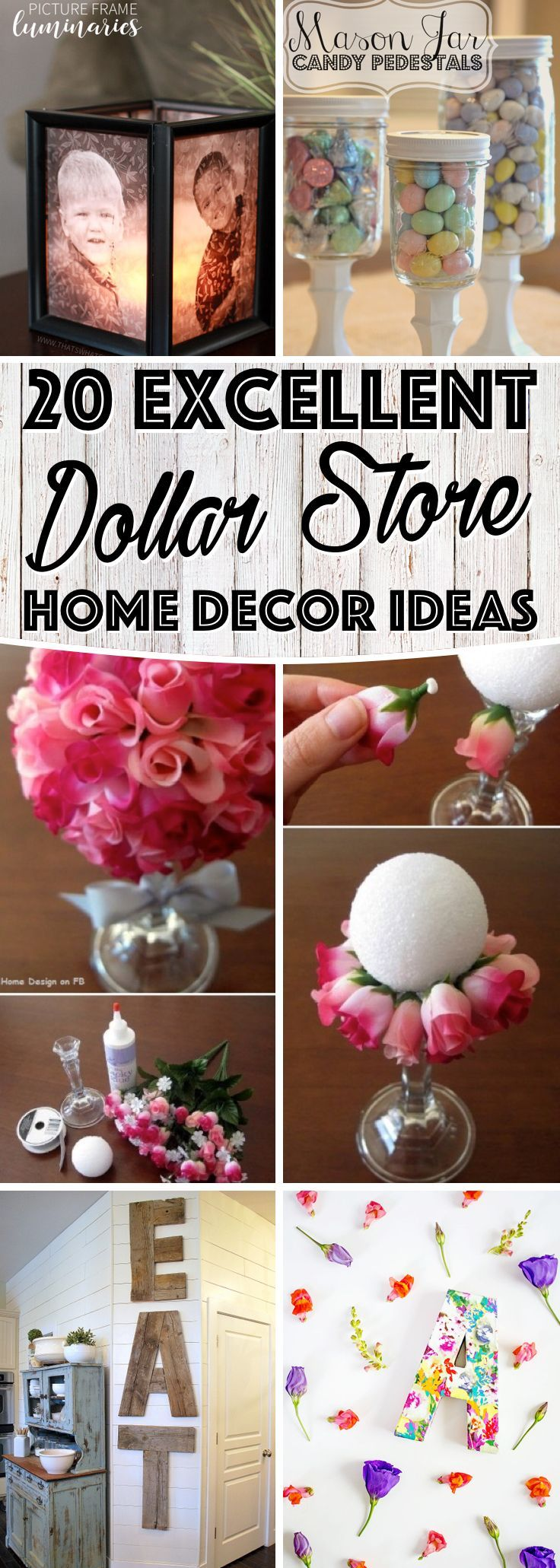 Best 842 Best Images About Dollar Store Crafts On Pinterest This Month