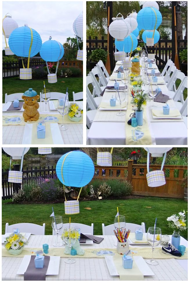 Best Sky Themed Backyard Baby Shower Designed And Planned By This Month