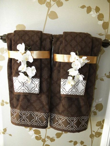 Best 1000 Ideas About Bathroom Towel Display On Pinterest This Month