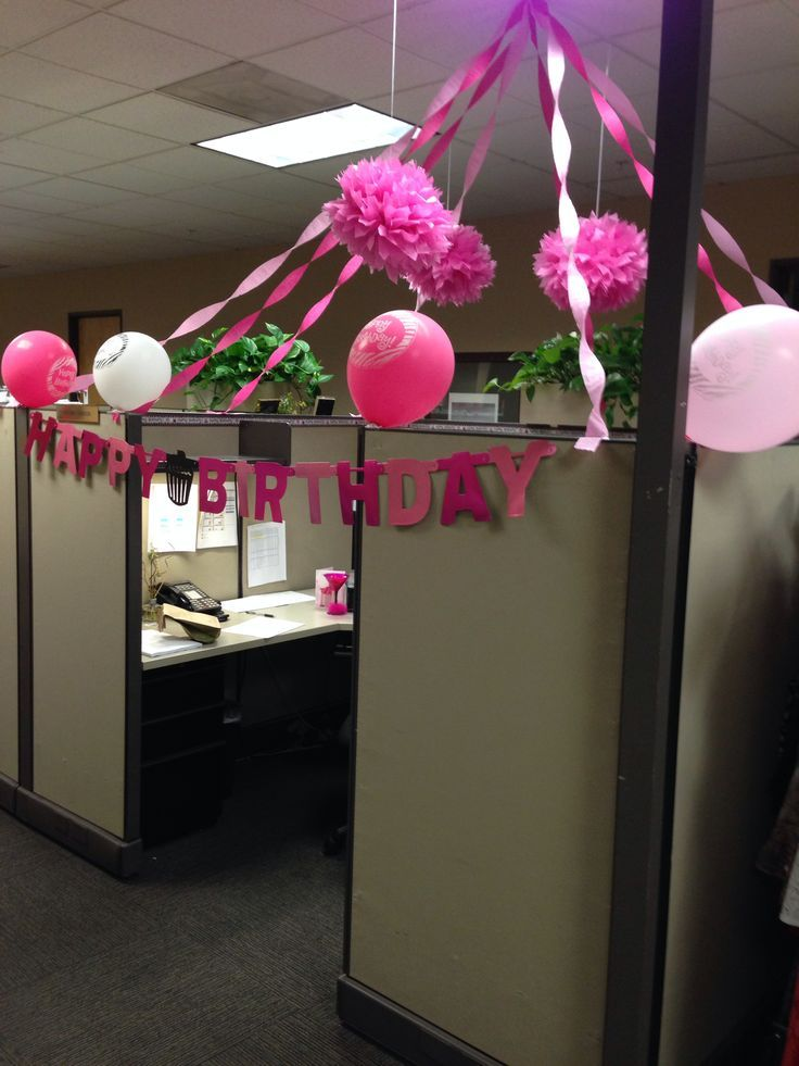 Best Birthday Cubicle Decorating Ideas Birthdays Another This Month